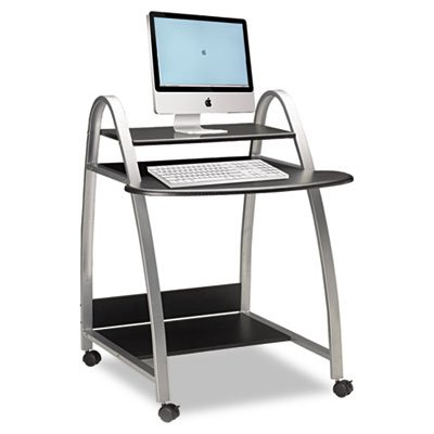 Eastwinds Arch Computer Cart, 31-1/2w x 34-1/2d x 37h, Anthracite, Sold as 1 Each by Mayline