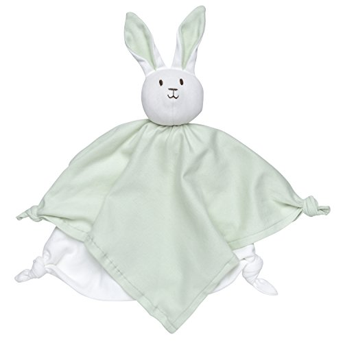 The Under Nile Cotton Blankets - Under the Nile Unisex Baby Lovey Bunny Blanket Friend 10