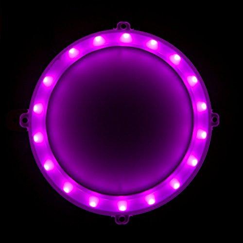 Blinngo Cornhole LED lights, Ultra Bright Standard cornhole night light for Family Backyard Bean Bag Toss Cornhole Game, Four Color Options, Long-lasting Over 72 Hours, 2 Set (pink)