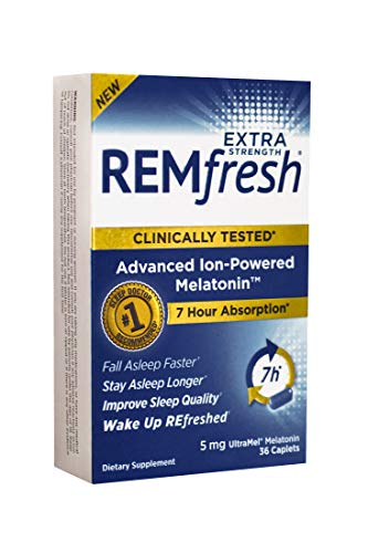 REMfresh Extra Strength 5mg Melatonin - Advanced Sleep Formulation