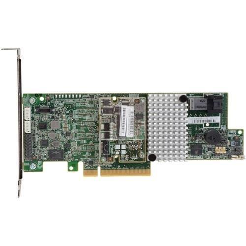 LSI Logic LSI LSI00415 MegaRAID SAS 9361-4i 4-Port 12Gb/s SAS+SATA PCI-Express 3.0 Low Profile RAID Controller, Single by LSI Logic