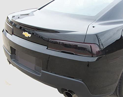 Dark 2014 2015 Fits: Camaro Pre-Cut Vinyl Overlay Taillight Plus Tint Subject 9