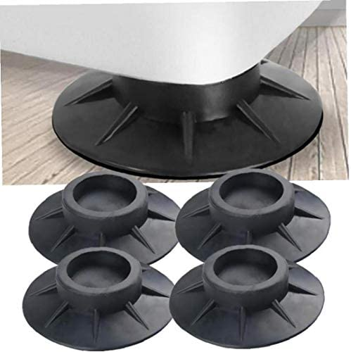 Aisoway Anti Vibration Gummifüße Pads Anti-rutsch-Shock Proof Bodenmatte Für Möbel Waschmaschine Schützer 4 Stück