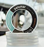 100% FLUOROCARBON Leader 30lb | Tournament Fishing Line | 55 Yard Spool | Lowest Stretch Index & .33mm Diam is THINNEST in Floro Market | Abrasion Resistent | Invisible w/TOP Tensile/Knot Strength