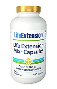 Life Extension Life Extension Mix, 490  Capsules