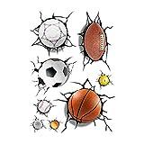 FidgetKute 3D Football Basketball Crack Decal