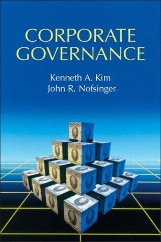 Corporate Governance (Prentice Hall Finance Series)
