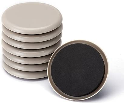 Furniture Sliders, CO-Z Reusable Round Movers for Heavy Furniture