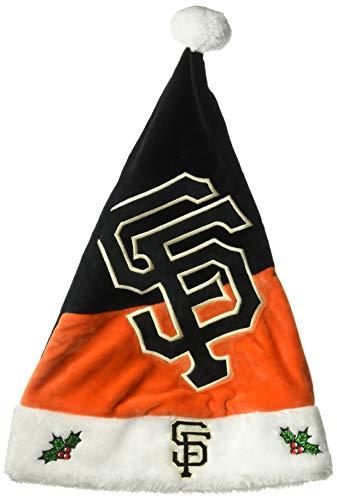(FOCO MLB San Francisco Giants Mens Basic Santa HatBasic Santa Hat, Team Color, One Size)