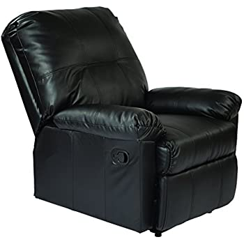Amazing Amazon Com Office Star Kensington Bonded Leather Recliner Pabps2019 Chair Design Images Pabps2019Com