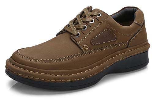 Mens Oxfords Business Casual Shoes Genuine Leather Handmade Lightweight and Comfortable Walking Shoes for Men by CAMEL CROWN