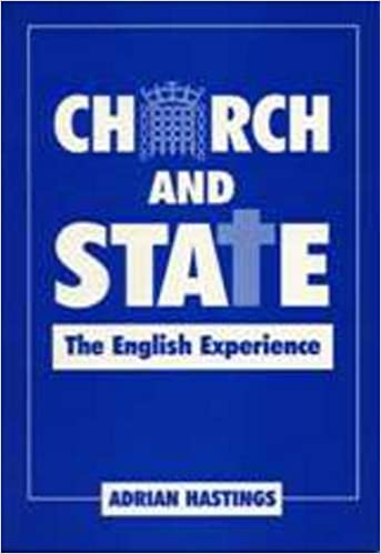 Book Church and State: The English Experience (The Prideaux Lectures)