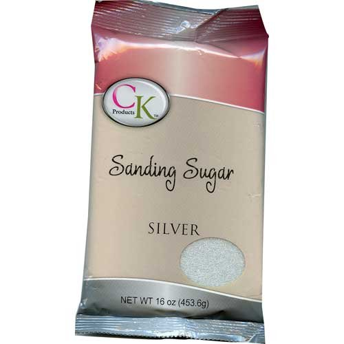 CK Products No.1 Sanding Sugar, Silver
