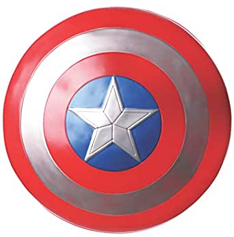 "Rubie's Avengers Endgame - Captain America 24"" Shield - Adult Accessory"