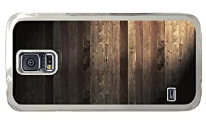 Hipster Samsung Galaxy S5 Case new covers wood planks PC Transparent for Samsung S5