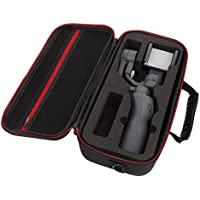 Carrying Case For DJI Osmo 2Mobile Gimbal & Accessories, Rucan Black EVA Storage Bag Case Cover Carry Bag Handbag