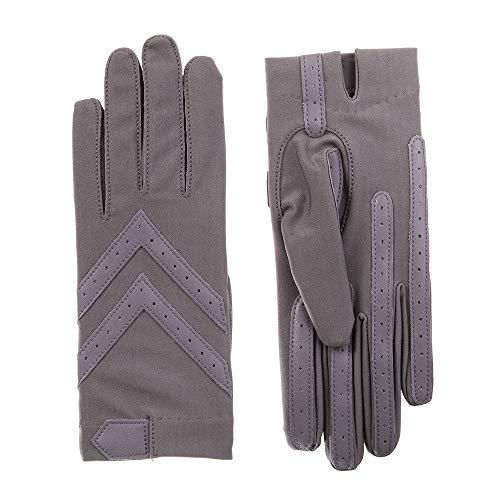 (ISOTONER Spandex Shortie Gloves (Unlined) - A30101 (Dusty Lavendar, L/XL))