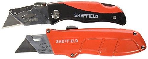 (Sheffield 2 Piece Lock Back Knife Set)