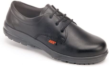 Black Womens Shoes 4 UK ABS 121P Ladies Safety