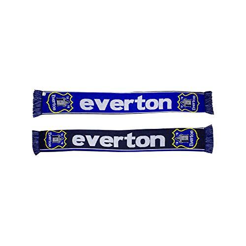 Everton FC Crest Fan Scarf (Blue/Black)