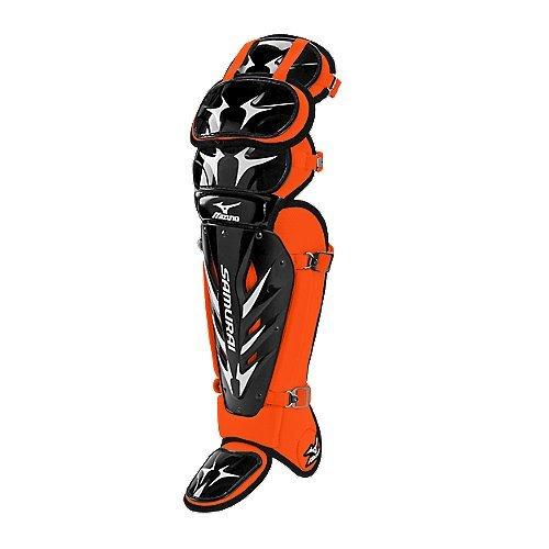 - Mizuno Samurai G3 16.5-Inch Shin Guards (Black/Orange)