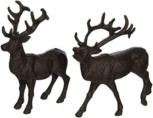 Esschert Design Cast Iron Deer Statue