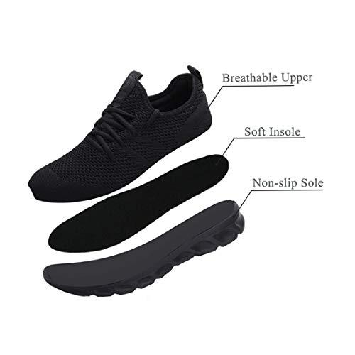 Femme Chaussures de Running pour Course Sports Fitness Respirant Mesh Gym Outdoor Trail Jogging Walking Tennis Baskets… 5