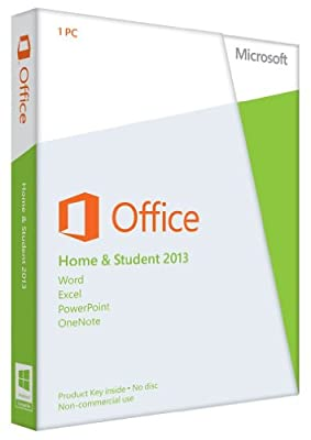 Microsoft Office Home & Student 2013 32/64-bit - Product Key Card