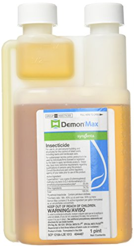 Demon Max Insecticide Pint 25.3% Cypermethrin (Spray To Get Rid Of Ticks In Yard)