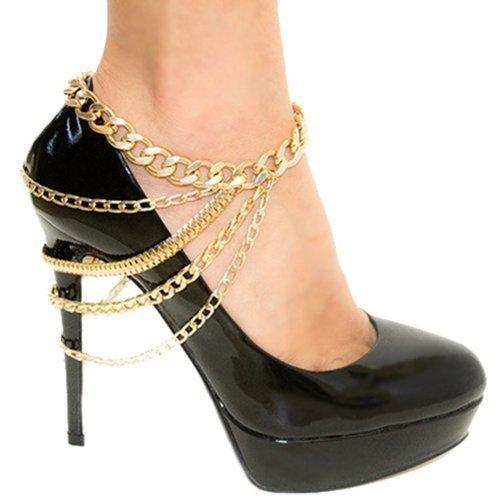 Meiysh Goldtone Chain Dangling Chains