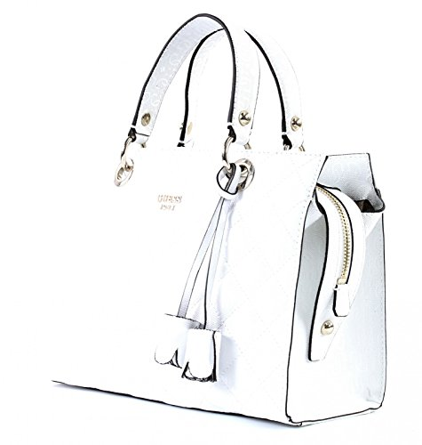 GUESS Seraphina Satchel White