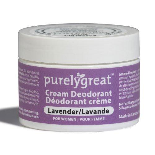Purelygreat Natural Deodorant Women Lavender