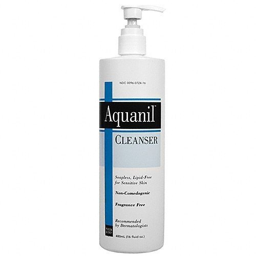 Aquanil Cleanser Non-Comedogenic and Fragrance Free, 16.0 OZ (3 Pack) (Aquanil Cleansing Lotion)