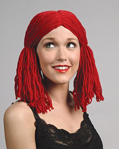 Raggedy Anne Doll Ladies Wig Red Yarn Bundles String Women s Animated  Cosplay Clown Pigtails Enigma Costume Wig - Buy Online in Oman.  c53dd5709