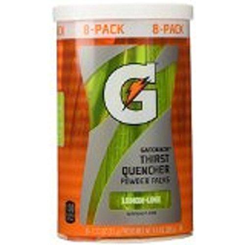 - Gatorade Thirst Quencher Powder Packet G - Lemon Lime (8 per pack)