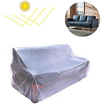Amazon Com 96 Quot Clear Vinyl Furniture Protector Sofa