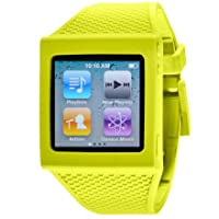 HEX HX1001-GREN Watch Band for iPod Nano 6G - Green