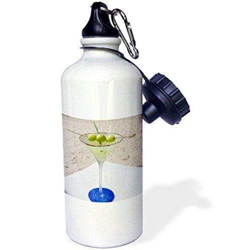 3dRose Danita Delimont - Cocktails - Melon Martini cocktail - US10 GJO0622 - Greg Johnston - 21 oz Sports Water Bottle (wb_89168_1)