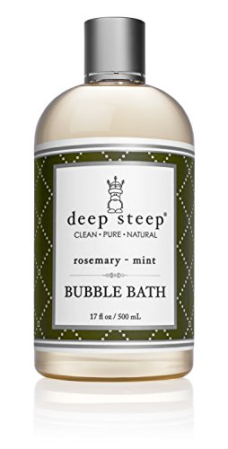 [Deep Steep Rosemary Mint Bubble Bath - 17 Fluid Ounces] (Aromatherapy Bubble Bath)