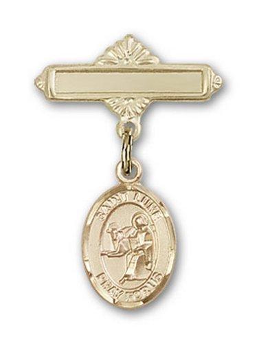 Icecarats Or Bijoux De Créateurs Rempli R. Luke Broche Le Badge De Charme Apôtre 1 X 5/8