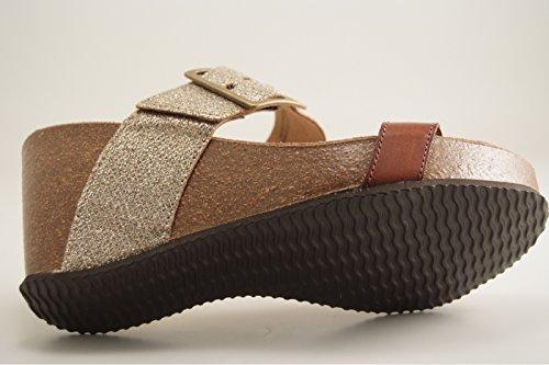 Reqins - Zapatos de vestir para mujer MARRON MOYEN