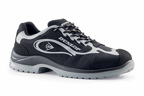 Dunlop Quattro Max - Chaussures de sécurité S1P SRC couleur : noir
