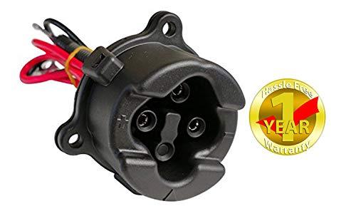 Yamaha Golf Cart 2011-2017 48-Volt Charger Plug Receptacle JW9-H6181-00
