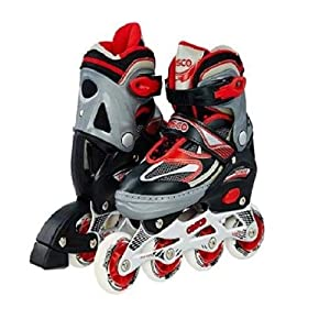 Cosco Sprint Roller Skates, L (Red)