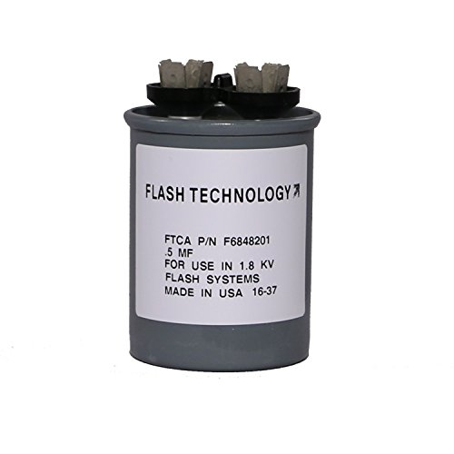 - Flash Technology - Tower Lighting Night Mode Capacitor (0.5 uF) for Aviation Obstruction Lighting System