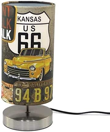 Handmade Route 66 Lampshade 30cm