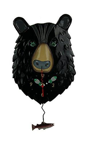 Black Bear Wall Clock - Allen Designs
