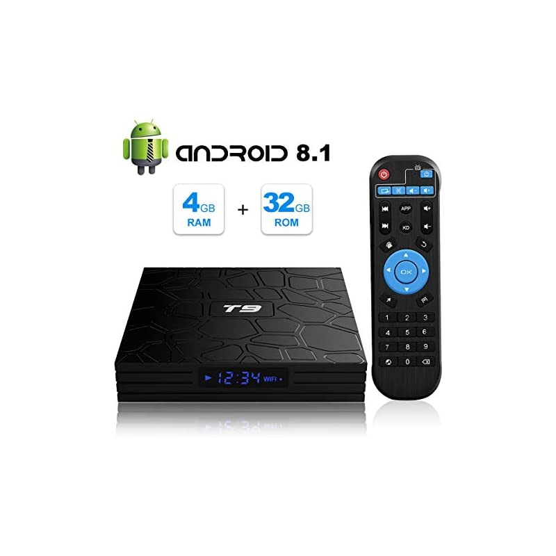 T9 Android 8.1 TV Box 4GB DDR3 RAM 32GB