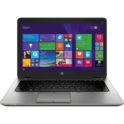 (Renewed) HP Elitebook 840 G2 14-inch Laptop (5th Gen Core i5/8GB/256GB/DOS/Integrated Graphics), Black