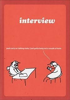 modern toss card work interview